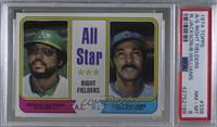 All Star Right Fielders (Reggie Jackson, Billy Williams) [PSA 8 NM…