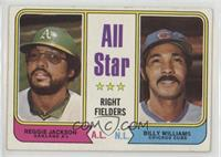 All Star Right Fielders (Reggie Jackson, Billy Williams) [Poor]