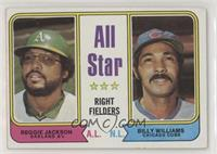 All Star Right Fielders (Reggie Jackson, Billy Williams) [Good to VG&…