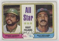 All Star Right Fielders (Reggie Jackson, Billy Williams) [Poor to Fai…