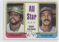 All Star Right Fielders (Reggie Jackson, Billy Williams)
