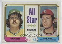All Star Pitchers (Jim Hunter, Rick Wise) [GoodtoVG‑EX]