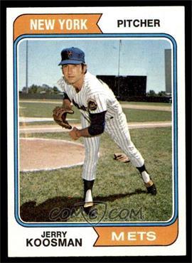 1974 Topps - [Base] #356 - Jerry Koosman [VG]