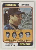 Red Sox Coaches (Darrell Johnson, Eddie Popowski, Lee Stange, Don Zimmer, Don B…