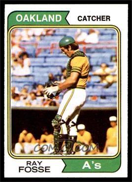 1974 Topps - [Base] #420 - Ray Fosse [EXMT]