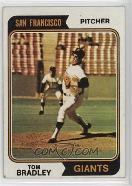 1974 Topps - [Base] #455 - Tom Bradley