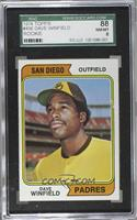 Dave Winfield [SGC 88 NM/MT 8]