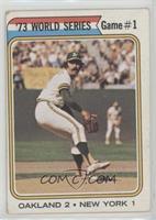 '73 World Series Game #1 (Darold Knowles) [GoodtoVG‑EX]