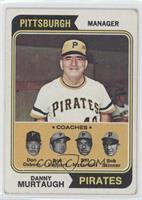 Pirates Coaches (Danny Murtaugh, Don Osborn, Don Leppert, Bill Mazeroski, Bob S…