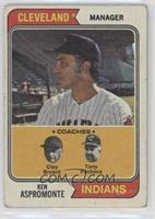Indians Coaches (Ken Aspromonte, Clay Bryant, Tony Pacheo) [PoortoF…