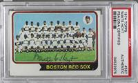 Boston Red Sox Team [PSA/DNACertifiedAuto]