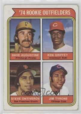 1974 Topps - [Base] #598 - '74 Rookie Outfielders (Dave Augustine, Ken Griffey, Steve Ontiveros, Jim Tyrone) [Good to VG‑EX]