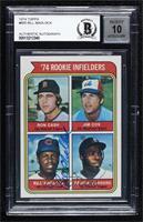 '74 Rookie Infielders (Ron Cash, Jim Cox, Bill Madlock, Reggie Sanders) [BAS&nb…