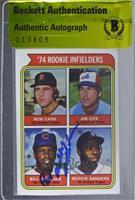 '74 Rookie Infielders (Ron Cash, Jim Cox, Bill Madlock, Reggie Sanders) [CAS&nb…