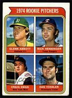 1974 Rookie Pitchers (Glenn Abbott, Rick Henninger, Craig Swan, Dan Vossler) [E…