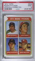 1974 Rookie Pitchers (Bob Apodaca, Dick Baney, John D'Acquisto, Mike Wallace) (…