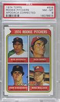1974 Rookie Pitchers (Bob Apodaca, Dick Baney, John D'Acquisto, Mike Wallace) (…