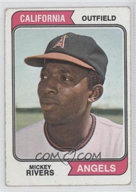 1974 Topps - [Base] #76 - Mickey Rivers - Courtesy of COMC.com