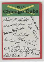 Chicago Cubs (One Star on Back) [Poor]