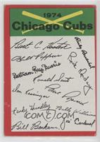 Chicago Cubs (One Star on Back) [GoodtoVG‑EX]
