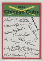 Chicago Cubs (Two Stars on Back)