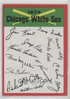 Chicago White Sox Team (Two Stars on Back)