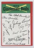 Cincinnati Reds Team (Two Stars on Back) [GoodtoVG‑EX]
