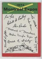 Montreal Expos (One Star on Back) [PoortoFair]