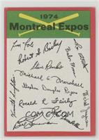 Montreal Expos (One Star on Back)