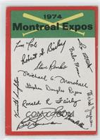 Montreal Expos (One Star on Back) [GoodtoVG‑EX]