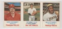 Mike Schmidt, Sparky Lyle, Willie Stargell