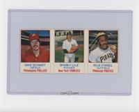 Mike Schmidt, Sparky Lyle, Willie Stargell [Excellent‑Mint]