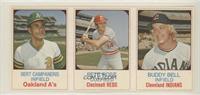 Bert Campaneris, Buddy Bell, Pete Rose