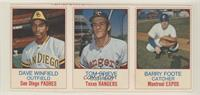 Dave Winfield, Tom Grieve, Barry Foote