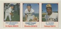 Andy Messersmith, Robin Yount, Al Oliver