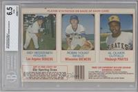 Andy Messersmith, Robin Yount, Al Oliver [BGS6.5EX‑MT+]