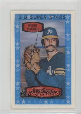 1975 Kellogg's 3-D Super Stars - [Base] #55 - Rollie Fingers