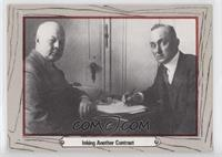 Inking Another Contract (Frank Navin, Ty Cobb)