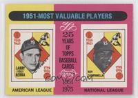 1951 Most Valuable Players (Yogi Berra, Roy Campanella) [GoodtoVG&#…