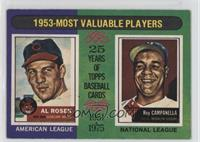 1953-Most Valuable Players (Al Rosen, Roy Campanella)