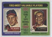 1953-Most Valuable Players (Al Rosen, Roy Campanella) [PoortoFair]