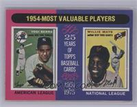 1954-Most Valuable Players (Yogi Berra, Willie Mays) [NearMint]