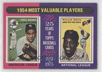 1954-Most Valuable Players (Yogi Berra, Willie Mays) [Good to VG&#820…