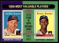 Jackie Jensen, Ernie Banks [EXMT]