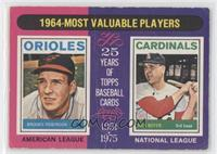1964-Most Valuable Players (Brooks Robinson, Ken Boyer) [Good to VG&#…