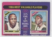 1966 Most Valuable Players (Frank Robinson, Roberto Clemente) [NonePoor&n…