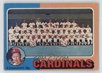 St. Louis Cardinals Team, Red Schoendienst [Poor to Fair]