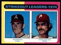 Strikeout Leaders (Nolan Ryan, Steve Carlton) [EXMT]