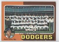 Los Angeles Dodgers Team Checklist (Walter Alston)