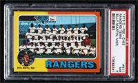 Texas Rangers Team, Billy Martin [PSA7NM]